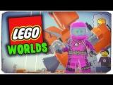 МЫ ПОПАЛИ В МУСОРНЫЕ ДЖУНГЛИ?! - Lego Worlds