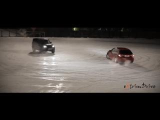 Зимнее танго на льду. Танец автомобилей