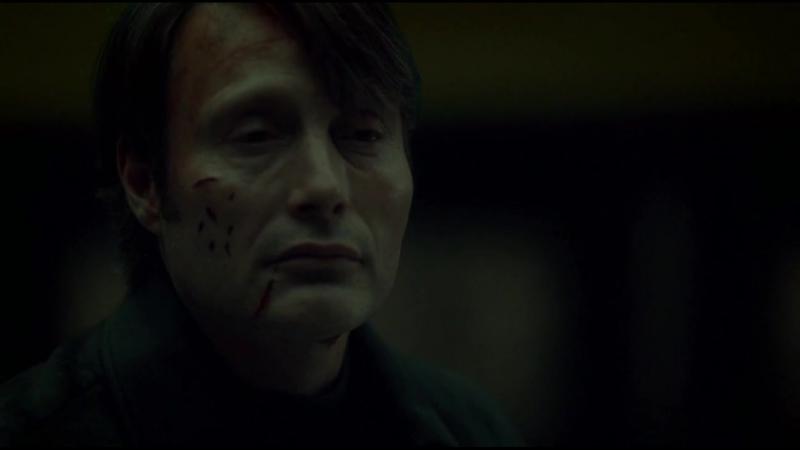 Hannibal season 3 episode 6 (Ганнибал 3 сезон 6 серия. Диалог в Риме у картины