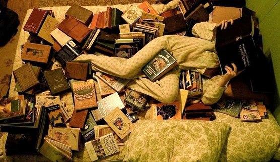 Когда читаешь несколько книг одновременно.