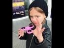 Юная топ модель Анна Павага в ТРК Европолис