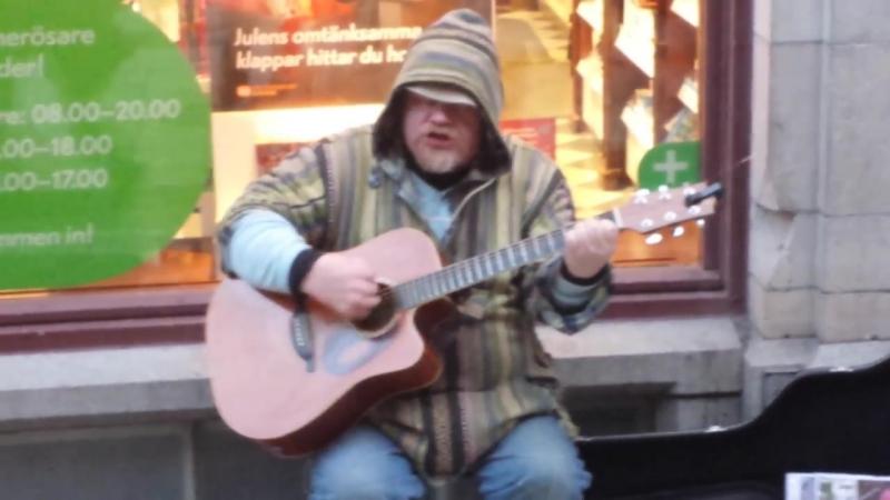 Уличные музыканты / Street musican   Dave Stewart - Apologize (cover)
