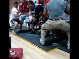 Влад Алхазов приседает 500 кг!