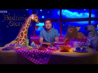 Cbeebies bed time story - sam nixon - daddy lions tea party #topnotchenglish