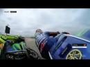 Опасный момент между Валентино Росси и Мавериком Виньялесом во время квалификации