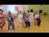 Задорный танец на утреннике 8 Марта в детском саду Младшая группа