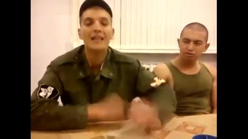 Rus esgeri gozel ifa ve gozel ses (Русский солдат супер поет)