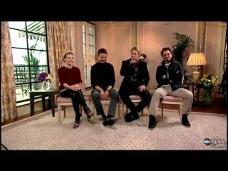 The Avengers Cast Discuss Pranks, Karoke on GMA (Apr 19, 2012)