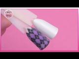 ♥Дизайн ногтей Свитер♥Какой гель краской я рисую вензеля♥