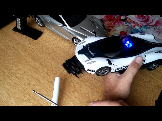 RC игрушки Aston martin и Дорожный патруль 14 маштаб