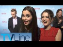 Интервью в рамках премьеры телесериала «Девочки Гилмор: Времена года» (18 ноября 2016)