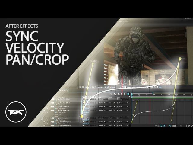AFTER EFFECTS HOW TO SYNC VELOCITY PANCROP - BASICS