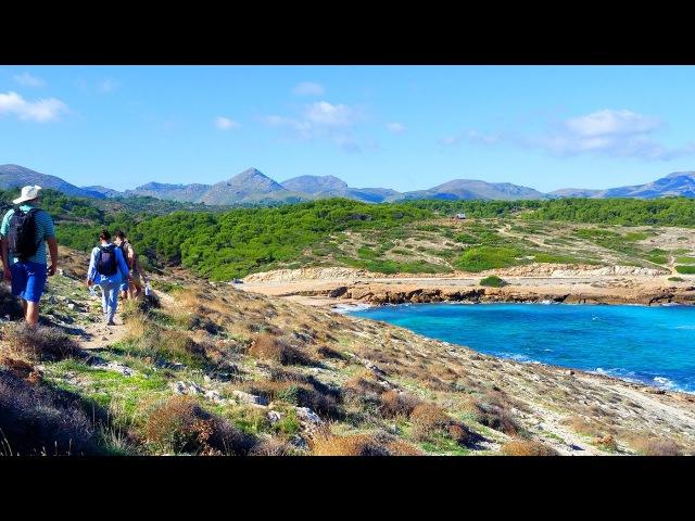 Треккинг Кала Мескида - башня Аубарка Майорка / Trekking Cala Mesquida - Torre de Aubarca