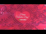 Quilling Heart Opener  After Effects Template
