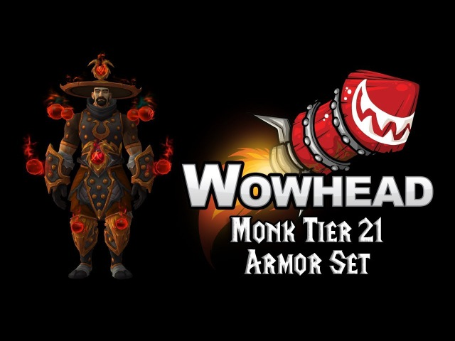 Monk Tier 21 Armor Set - Chi'Ji's Battlegear