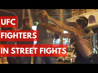 UFC Fighters In Street Fights - TOP 5