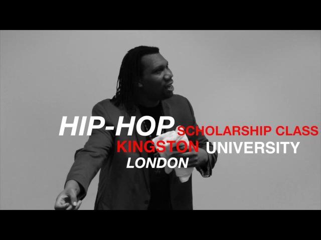 KRS ONE UK Lecture Kingston University gotkushTV GKTV Part 1