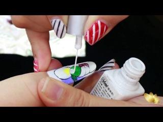 Hướng dẫn thực hành vẽ móng tay- Vẽ cọ nét Chin and Su Facebook