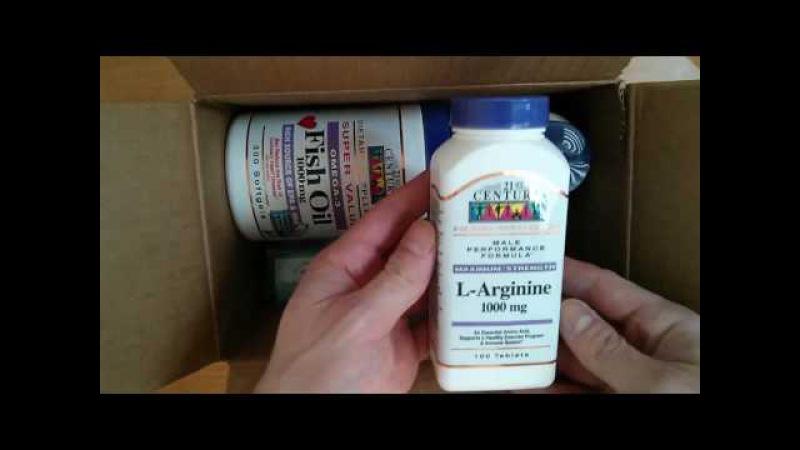 L-arginín, 1000 mg, 100 tabliet od 21st Century