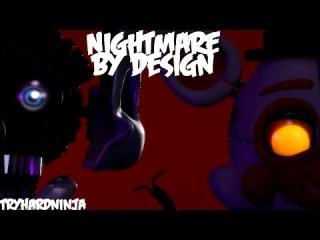 [SFM-FnaF-OC] 1K Special | Nightmare By Design By TryHardNinja