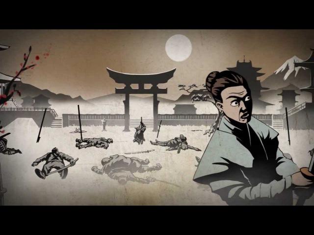 Заставка к игре Shadow Fight - Бой с тенью (D3 Media для Nekki)