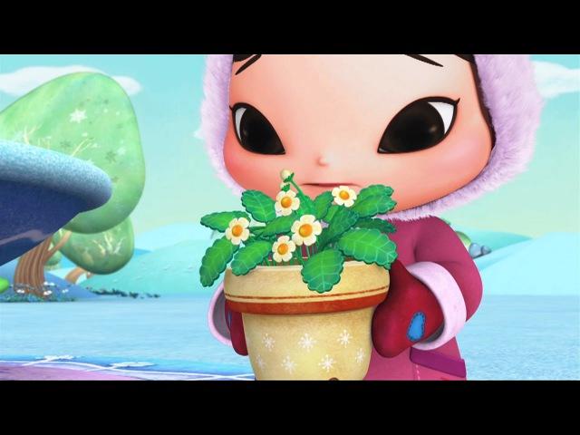 КИОКА - Клубника - Как ухаживать за растениями - Обучающие мультики для малышей от 3 лет