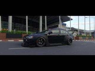 Lancer GT // Super Black