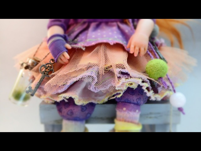 Lula. Minipupa dolls by Liya Kulesh.