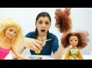 Барби в Салоне Красоты. Новая прическа Винкс ✂️ отрезаем волосы! Видео для дев...