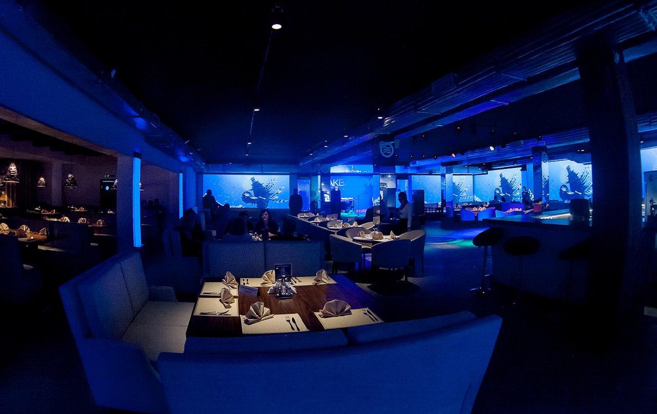Банкетный зал ресторана Акватория в Оренбурге