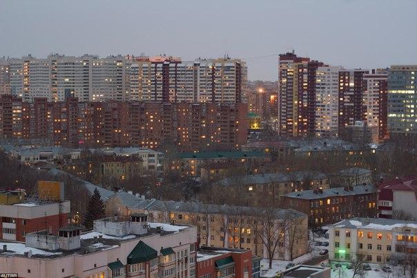Вечерняя Самара Фото: Александр Вареньев