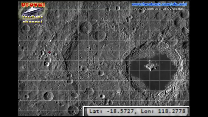 UFO MOTHERSHIP ON THE MOON APOLLO 20 LOCATION AND ...