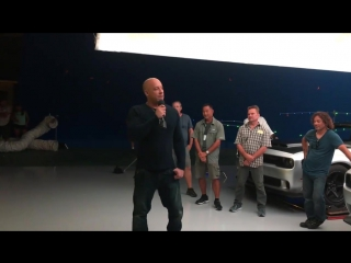 Vin Diesel - Facebook Video
