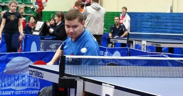 Спортсмен ДЮСШ «Метеор» принял участие в Международном турнире по настольному теннису
