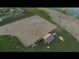 ULCAMP - 2017 drone footage through day till night Volga. DJI Phantom 4