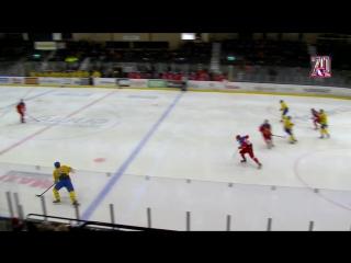 Турнир пяти наций U18. Швеция - Россия - 3:1