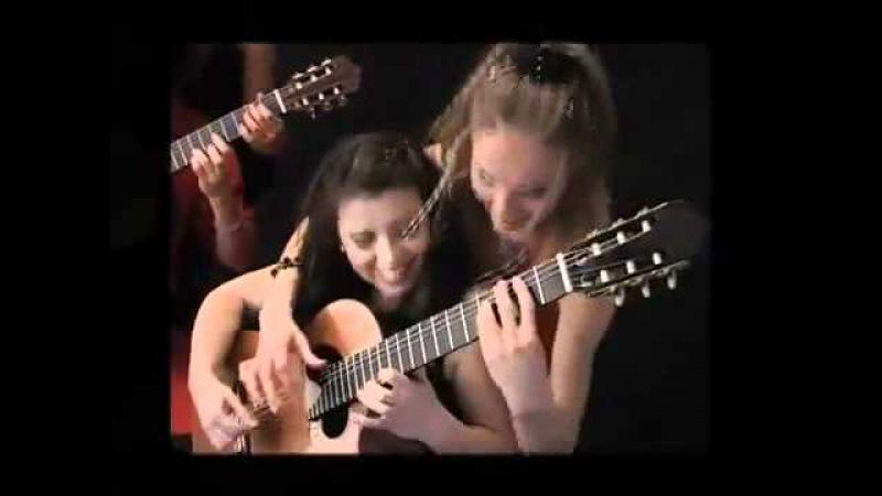 4-tissimo Guitar Quartet plays Tico Tico no Fubá. » Freewka.com - Смотреть онлайн в хорощем качестве