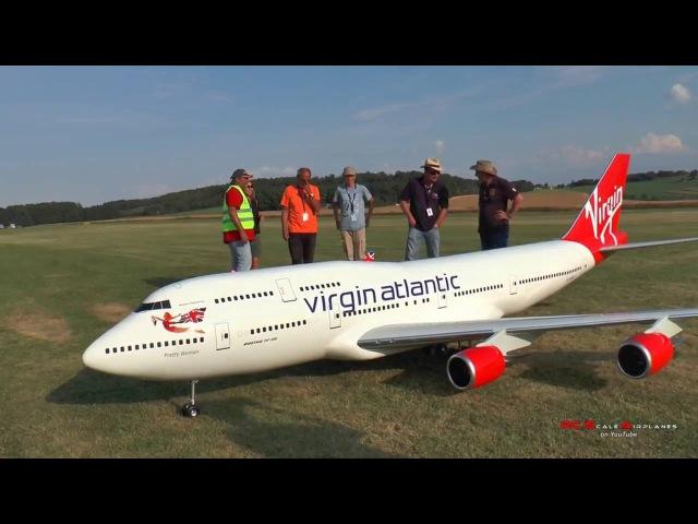 Уменьшенная копия Boeing 747