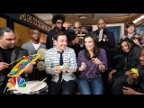 Jimmy Fallon, Idina Menzel &amp The Roots Sing