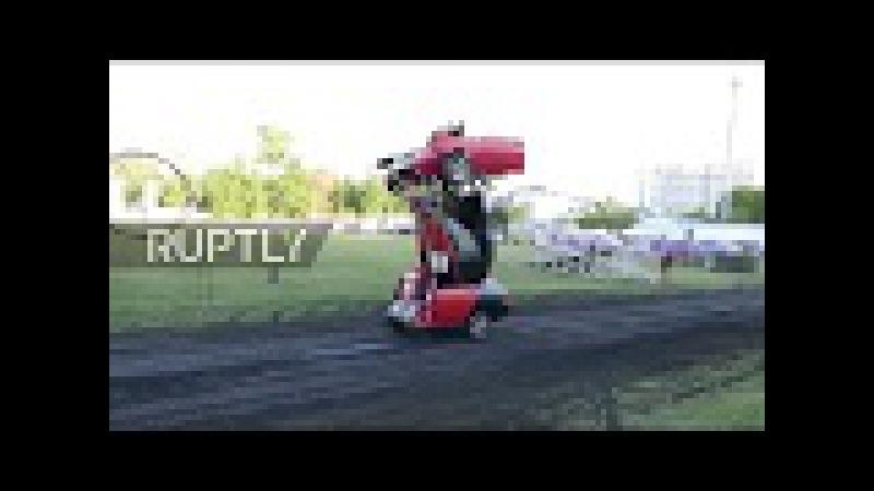 Russia: See LADA transform into gun-toting 'Transformers' robot