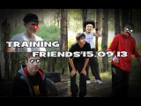 Training friends in pk forest =D