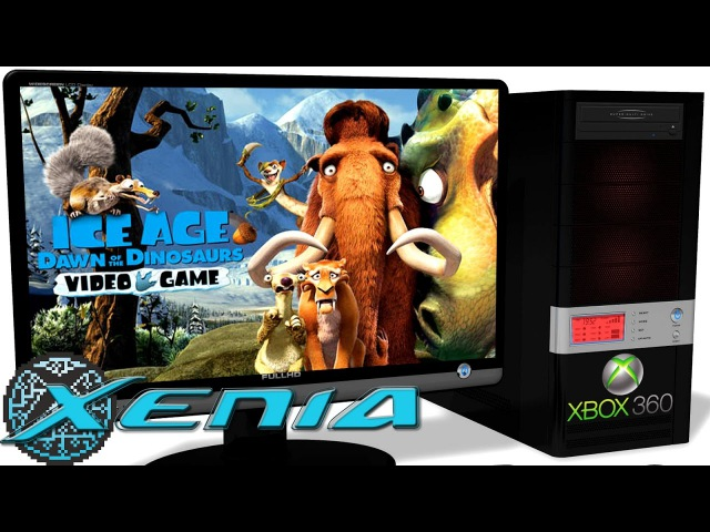 Xenia Xbox 360 Emulator - Ice Age 3 (2009). Ingame 60FPS. Vulkan (Color Fix). Test 5