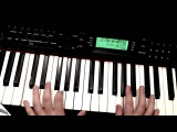 (Piano Tutorial) Kara Sevda dizi muzigi Toygar