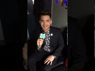 Adam Lambert on spotifyau's Snapchat 11/21/16 (7 snaps)