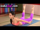 Locust pose feet up arms out | Yoga for Beginners ~ヨガ初心者