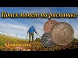 Поиск монет на распашке. Поиск старинных монет. Коп на перепаханных полях