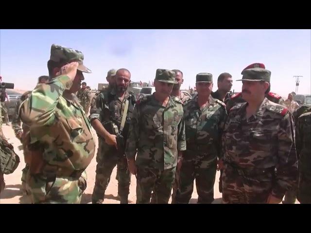 По поручению Верховного главнокомандующего Армией и Вооруженными силами САР президента Башшара Аль-Асада его заместитель, министр обороны корпусной генерал Фахед Джасем Аль-Фрейдж посетил действующие армейские подразделения в городе Дейр-эз-Зор.