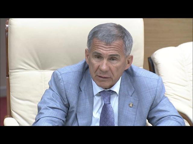 Минниханов о ремонте дорог: Тяп-ляп не делайте!