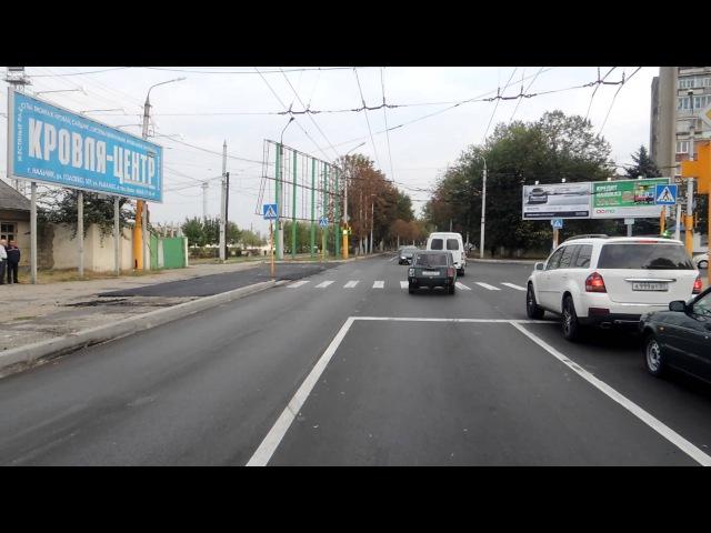 Нальчикский троллейбус. Маршрут №3 Nalchik trolley. Route number 3