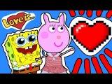 Пеппа Мультфильм все серии любовной истории Пеппы.. Свинка на Русском Новые Серии Peppa